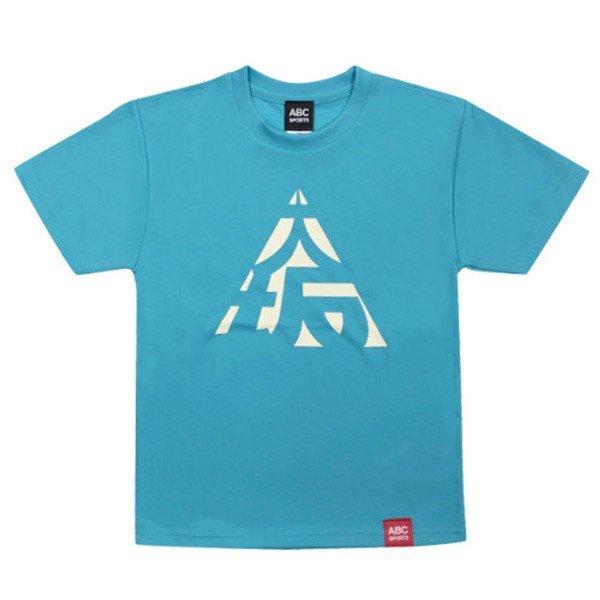 [ウェア]ABCオリジナルス 「大坂」 DRY Tシャツ アクアブルー(w-0057-ABL)