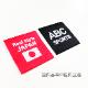 [ウェア]ABCオリジナルス 「マワリコンデフォア」ロゴ  DRY T シャツ ブラック(w-0035-BK)