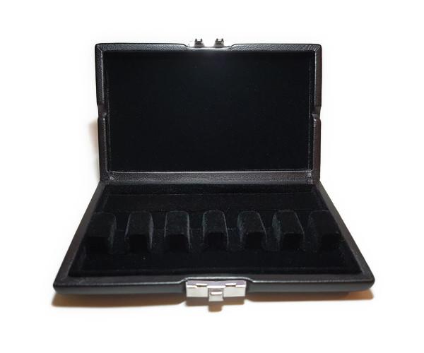 リードケース ファゴット 6本用/革ブラック