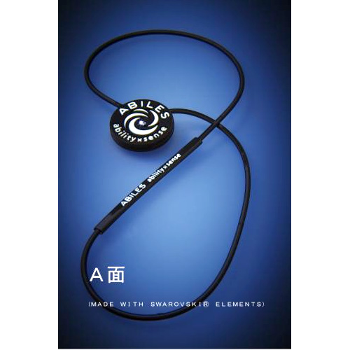 ABILES PRO ネックレス  【黒】 4,800円(税別)