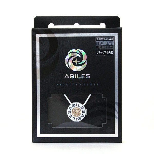 ABILES PLUS Crystal ネックレス Golden Shadow  【白】 6,800円(税別)