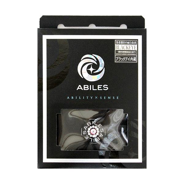 ABILES PLUS Crystal ネックレス TL-1  【黒】 6,800円(税別)TL(=高島屋リミテッド) 横浜高島屋店頭とアビリスオフィシャルストアのみでの限定販売