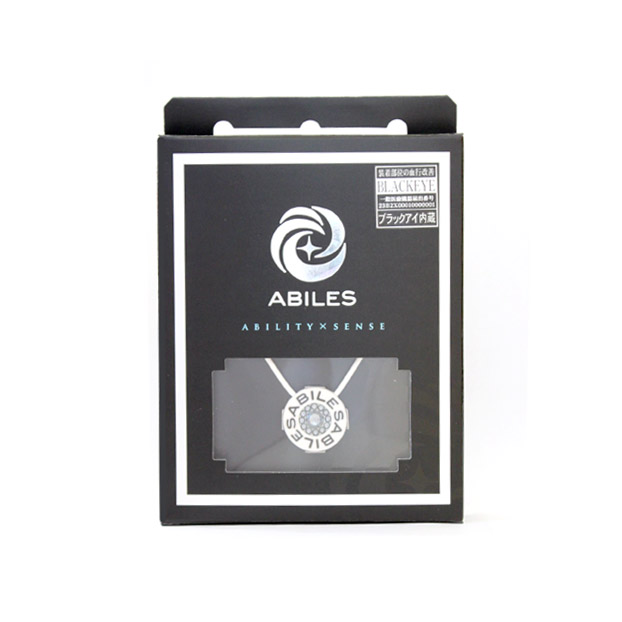 ABILES PLUS Crystal ネックレス Silver Night【白】 6,800円(税別)