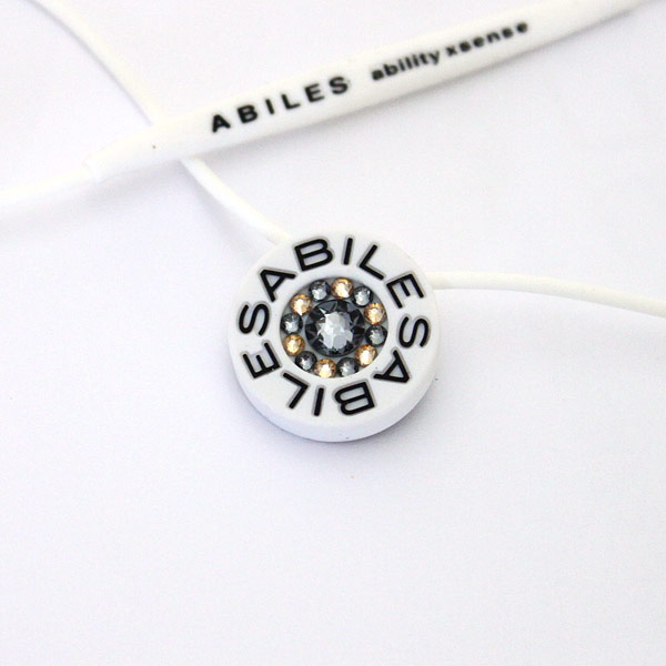 ABILES PLUS Crystal ネックレス Type G1  【白】 6,800円(税別)