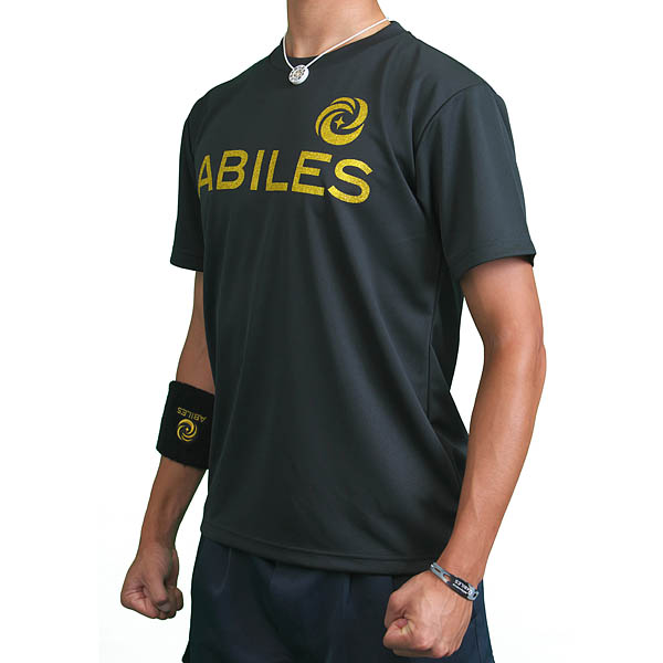 ABILES POWER Tシャツ【黒】