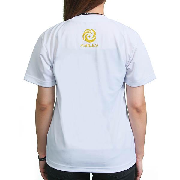 ABILES POWER Tシャツ【白】