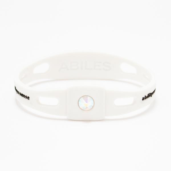 ABILES PRO Crystal ブレスレット/アンクレット【白×オーロラ】 5,600円(税別)web限定!