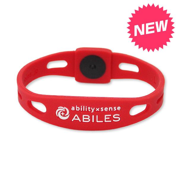ABILES PLUS ブレスレット【T-RED】5,600円(税別)