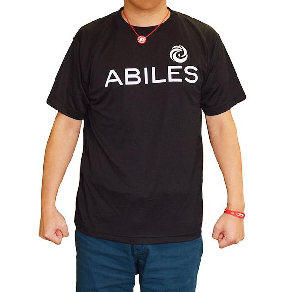 ABILES POWER Tシャツ NEW【黒】