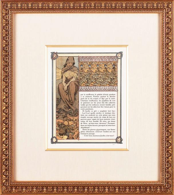 アルフォンス・ミュシャ 「トリポリの姫君イルゼ・102 ※仏語版」