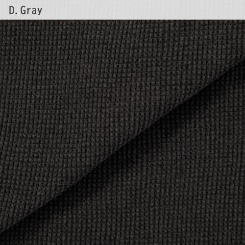 ピグメント ワッフル長袖