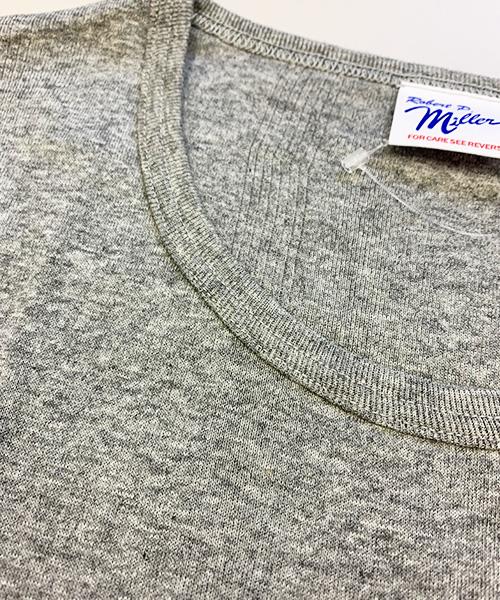 レディース パネルリブ L/S Tシャツ