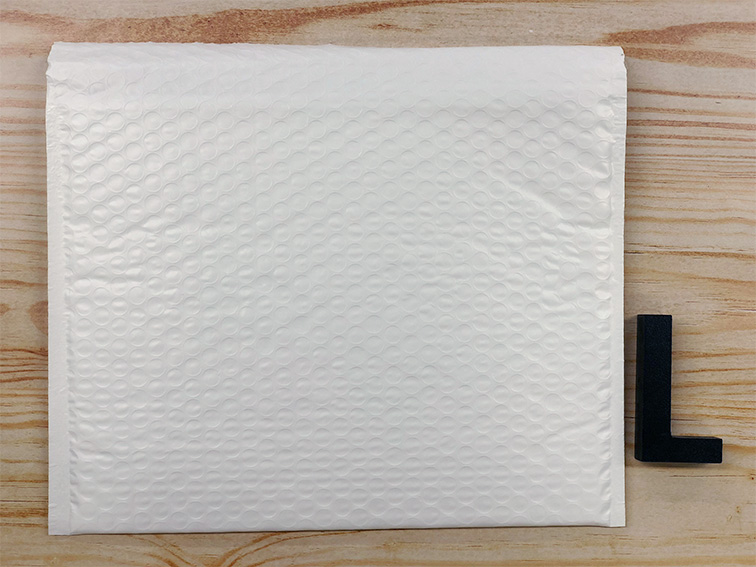 【3枚】ラクッション封筒 ポリタイプ ホワイト Lサイズ(外寸312×228+40mm)