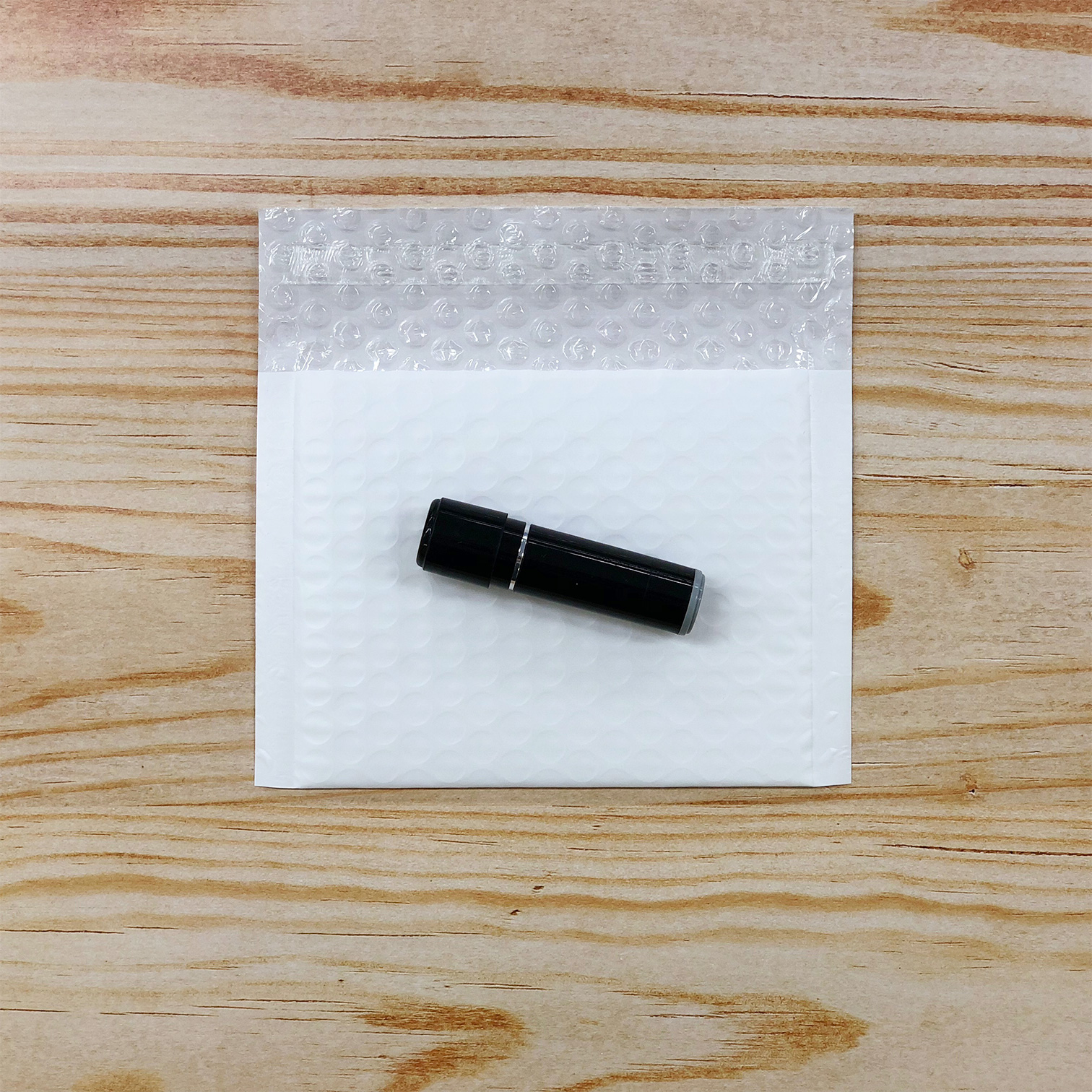 【100枚】クッション封筒 スリム薄型 耐水タイプ ホワイト miniサイズ(外寸150×100+40mm)