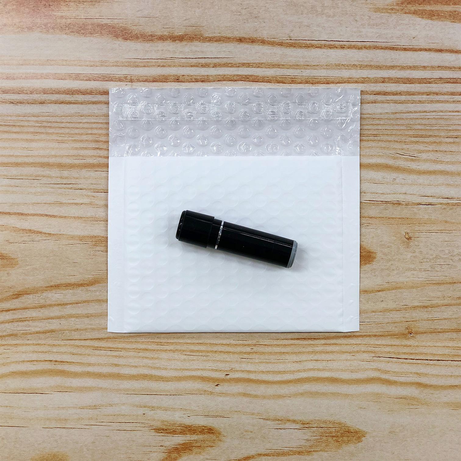 【2400枚】クッション封筒 スリム薄型 耐水タイプ ホワイト miniサイズ(外寸150×100+40mm)