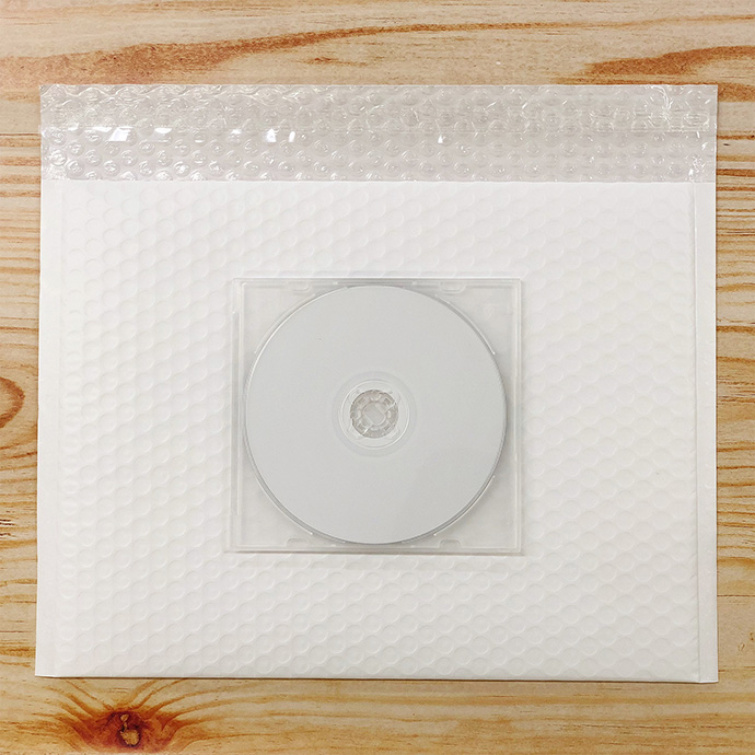 【30枚】クッション封筒 スリム薄型 耐水タイプ ホワイト Lサイズ(外寸312×228+40mm)