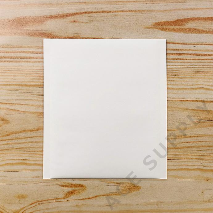 【10枚】クッション封筒 スリム薄型 開封テープ付 ホワイト Sサイズ(外寸190×210+40mm)
