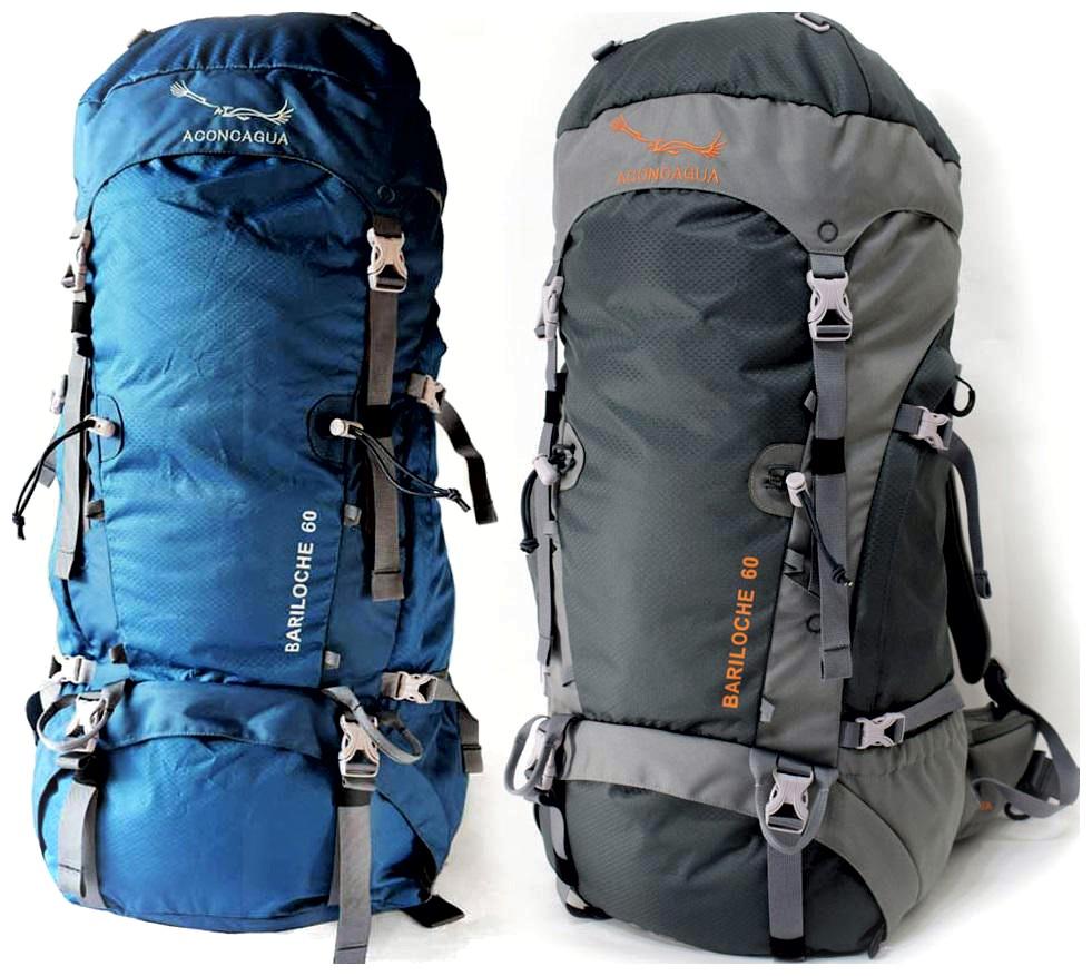 【セット】60L大型リュックサックとハイキングポールのセット 大型 大容量 アウトドア アルペン 山登り ソロキャンプ 登山用 Bariloche バリローチェ 60 Aconcagua アコンカグア