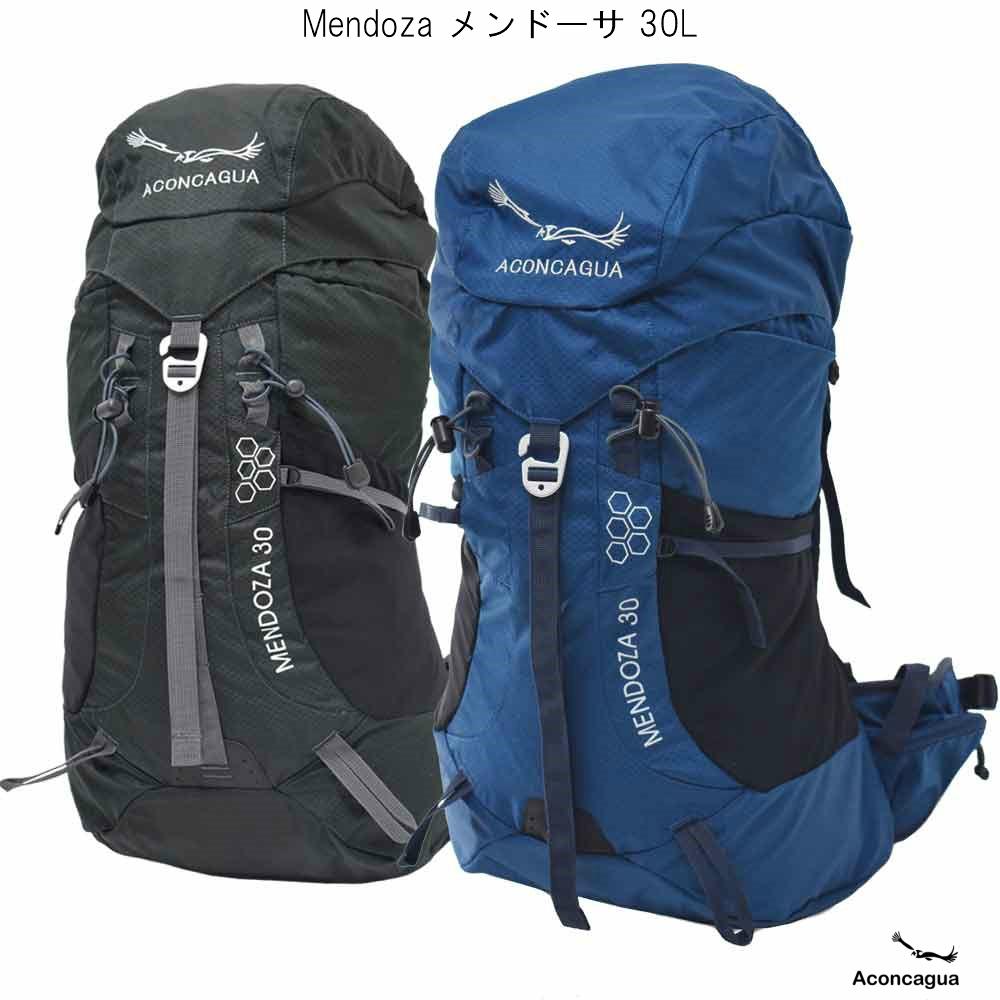 リュックサック 登山用 30L バックパック レディース メンズ 機内持ち込み アウトドアギア Mendoza メンドーサ 30 Aconcagua アコンカグア 送料無料