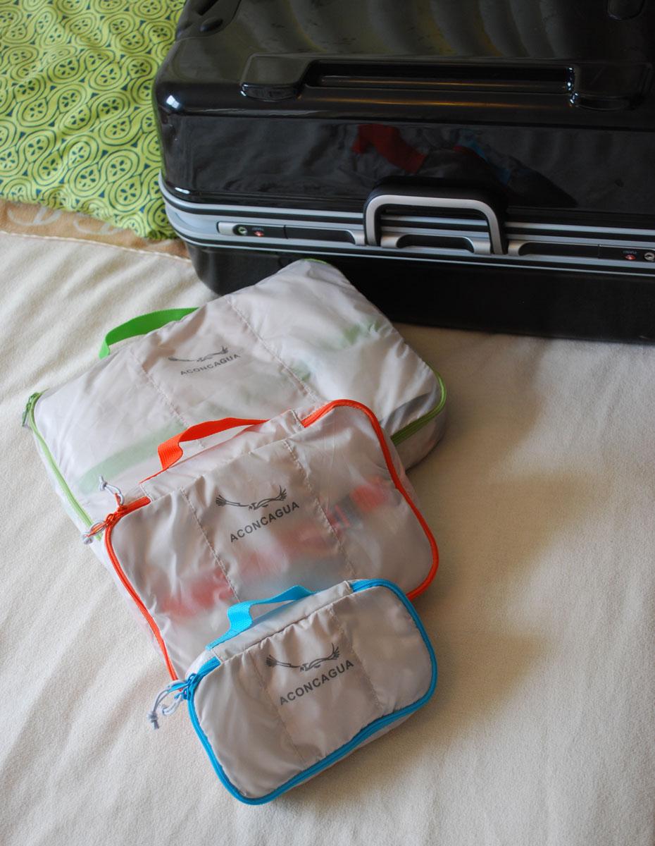 パッキングバッグ パッキングオーガナイザースタッフバッグ  Empaque エンパケ オーガナイザーポーチ 3点セット S/ M/ L