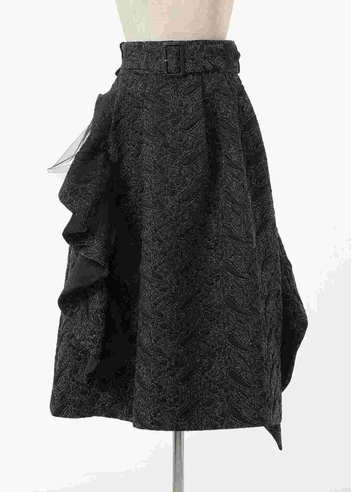 フリルベルトスカート