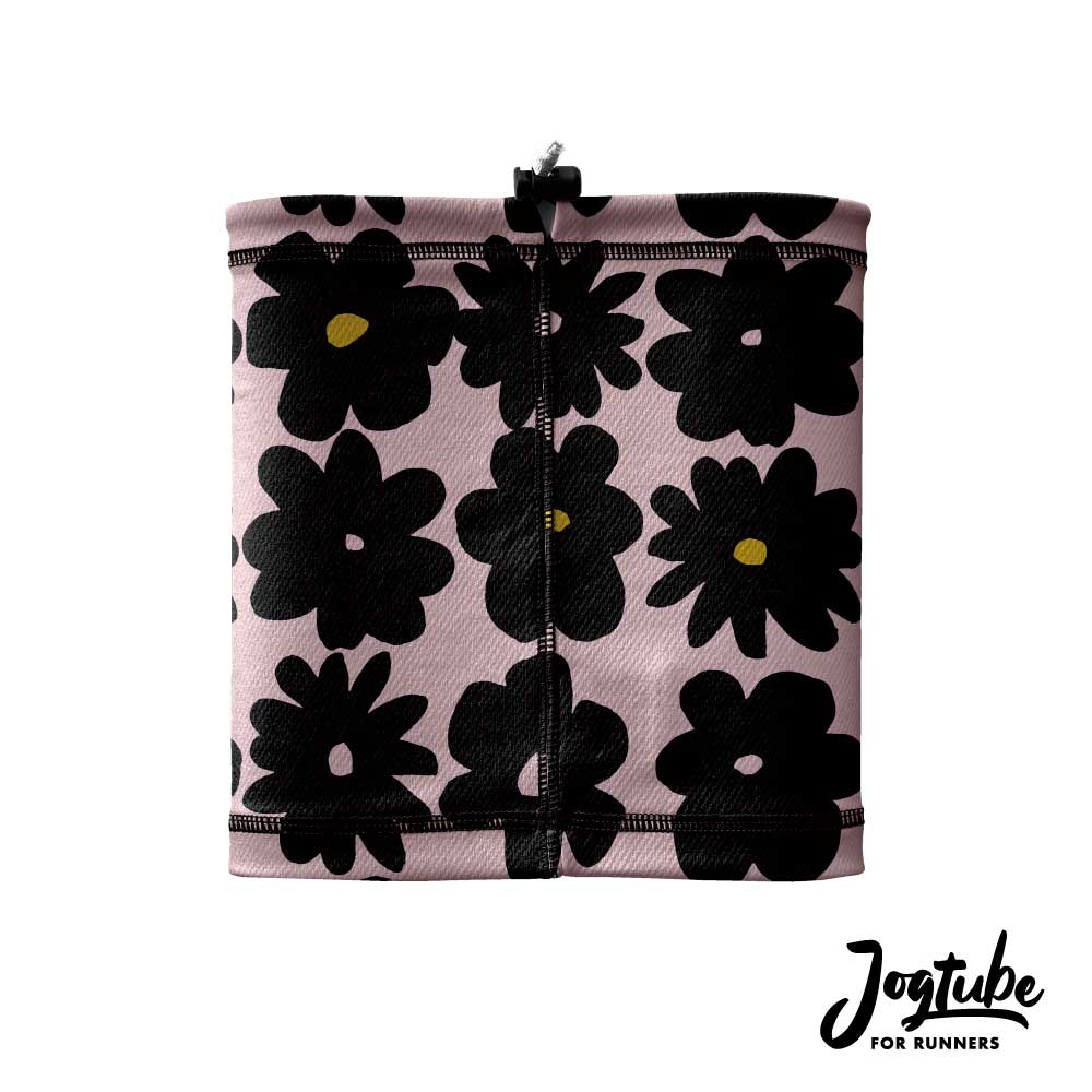 Jogtubeジョグチューブ black flower:ブラックフラワー