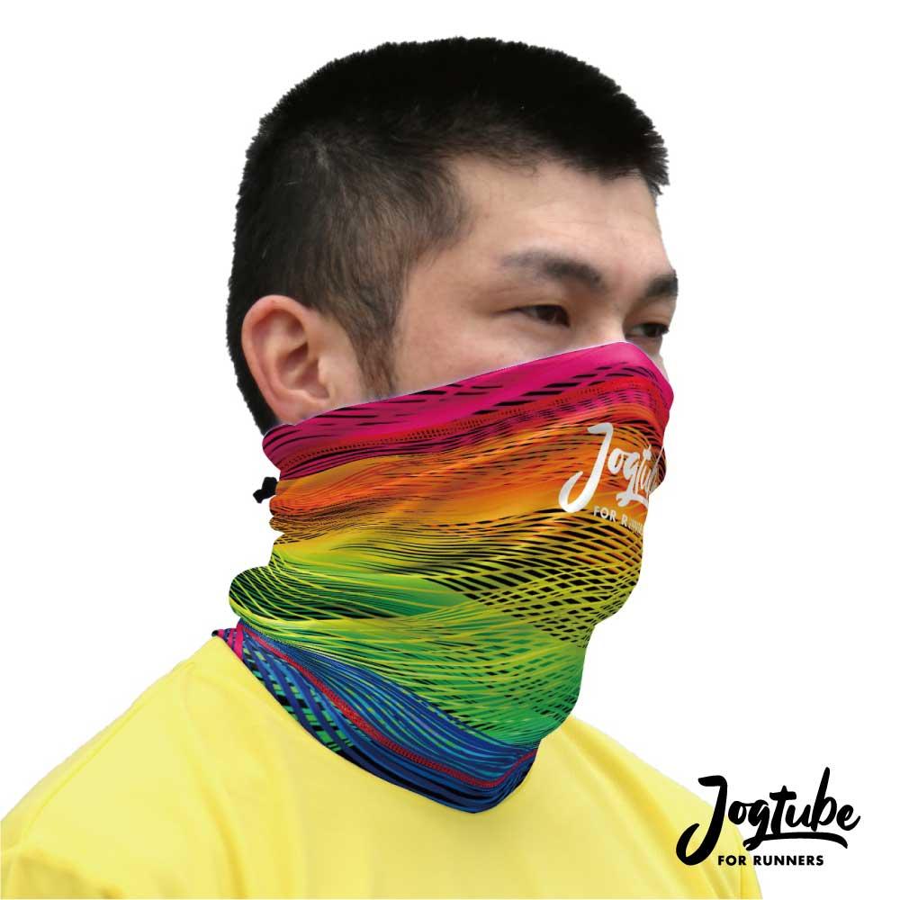 在庫限り!名入れOK!【海外生産限定商品】Jogtubeジョグチューブ rainbow:レインボー
