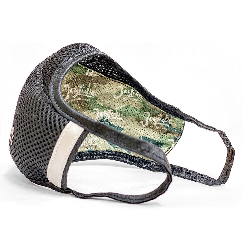 【数量限定】通気性とデザイン性に優れた抗菌防臭加工生地使用のランナー用スポーツマスク「Jogtube(R)マスク」