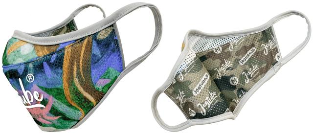 通気性とデザイン性に優れた抗菌防臭加工生地採用! サブフォー社長自ら500キロ試走で完成したランナー用スポーツマスク「Jogtubeマスク ms ウイルスシールド」