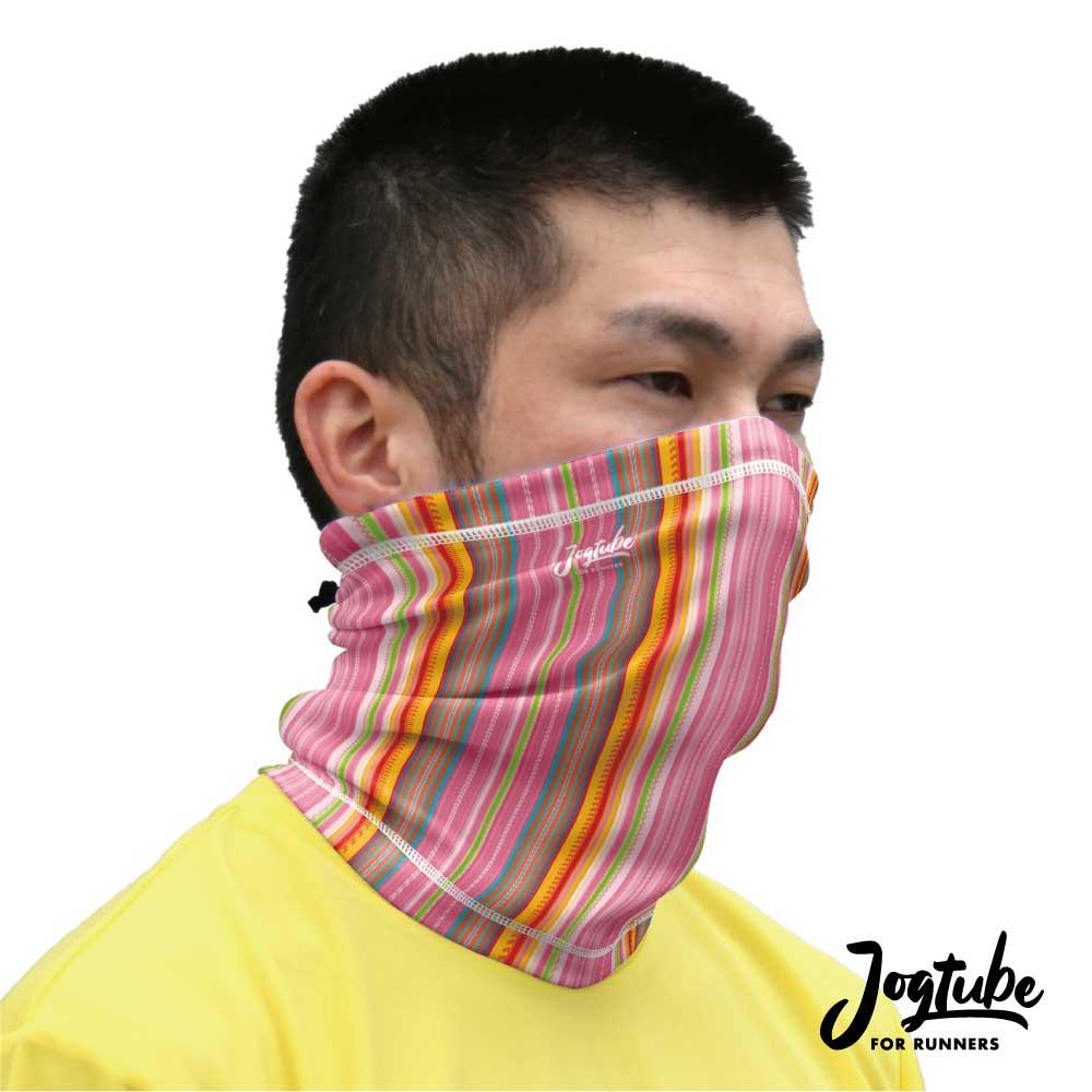 Jogtubeジョグチューブ pink stripe:ピンクストライプ