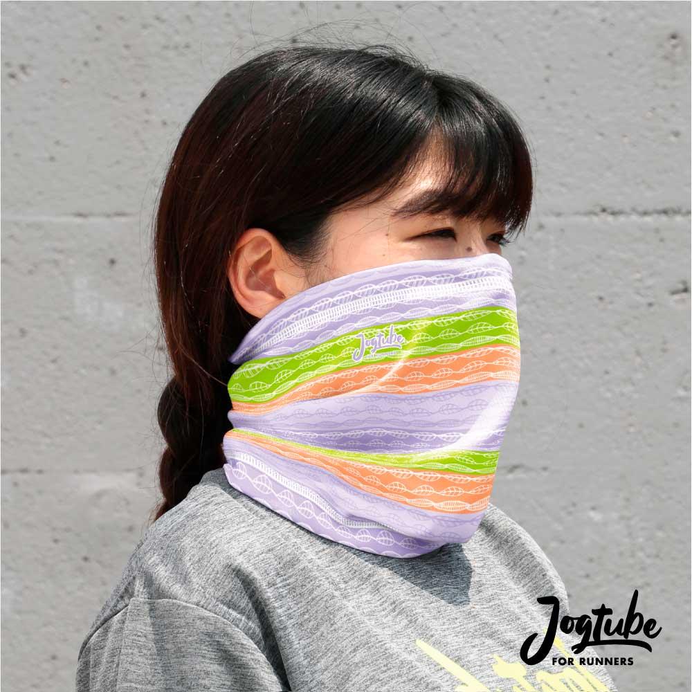 Jogtubeジョグチューブ leaf stripe:リーフストライプ