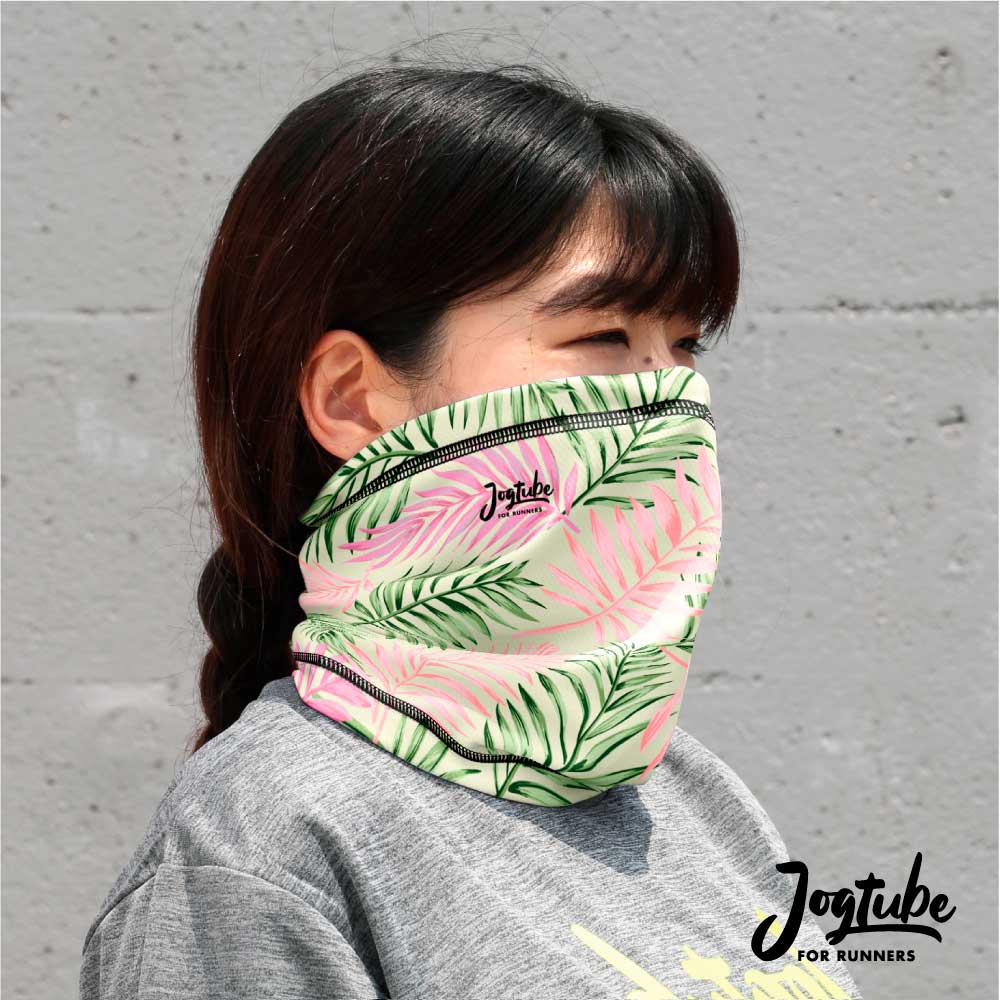 Jogtubeジョグチューブ pink leaf:ピンクリーフ