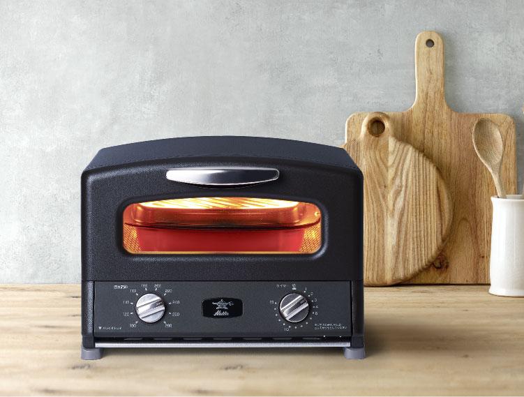 季節限定カラー【ADS限定商品】アラジン グラファイト グリル&トースター 4枚焼き(ブラック)