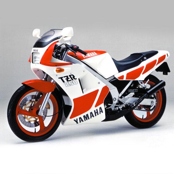 YAMAHA TZR250(1KT)ステッカーセット