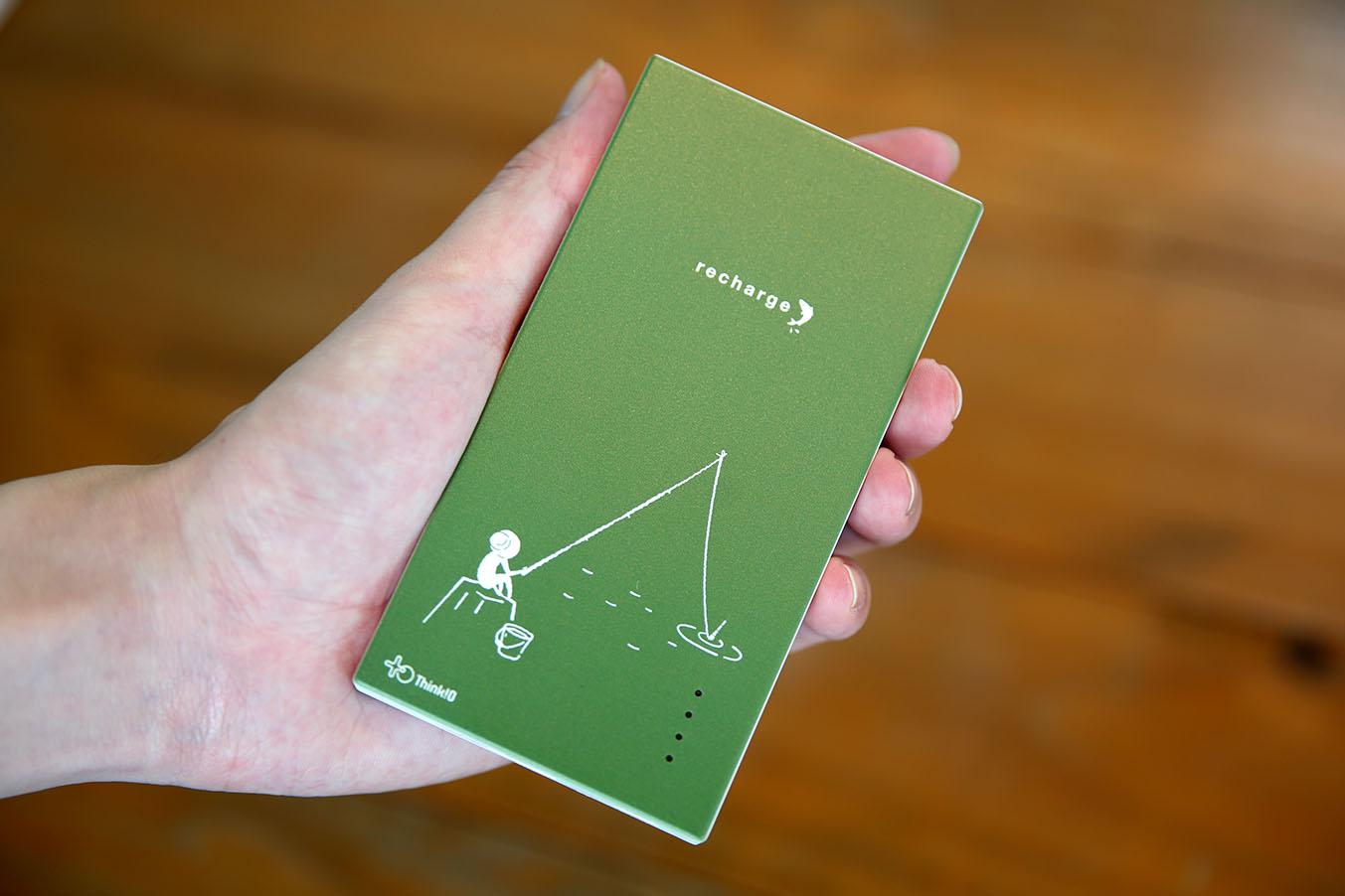 【モバイルバッテリー】MB-Recharge 釣り