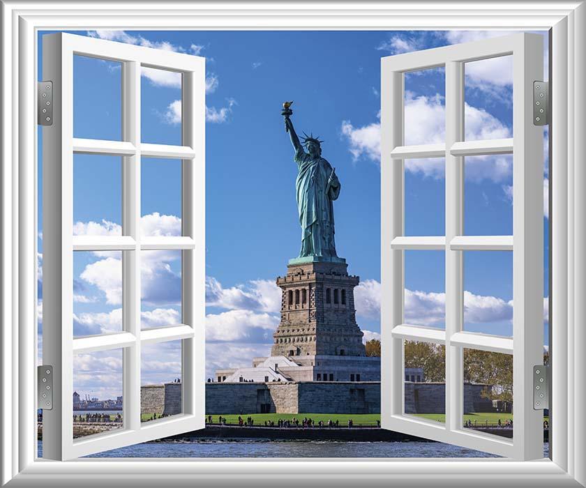ニューヨーク(自由の女神)