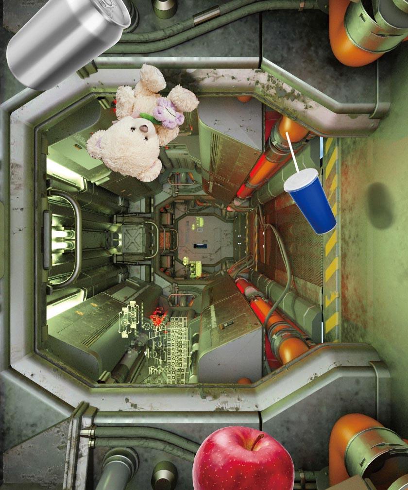 宇宙船船内