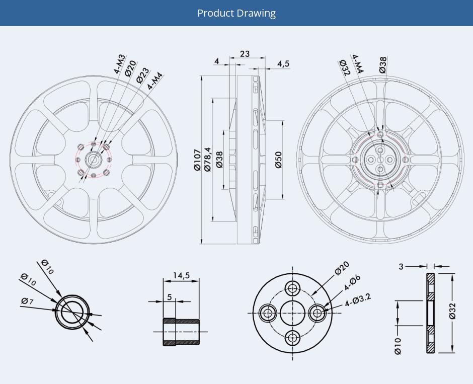 【T-motor】Antigravity  1005 KV90