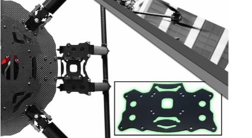 【Foxtech】D130 Dual Landing Gear