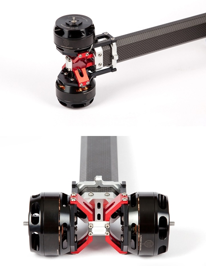 【Gryphon Dynamics】X-Motor Mount for Coaxial (MM-1000CX) 2重反転 モーターマウント