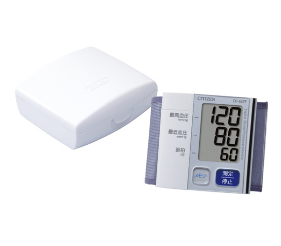 シチズン 電子血圧計 手首式 CH-657F