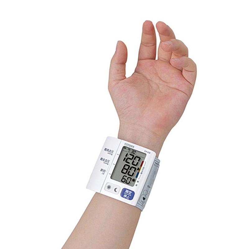 シチズン 電子血圧計 手首式 CH-658-WH