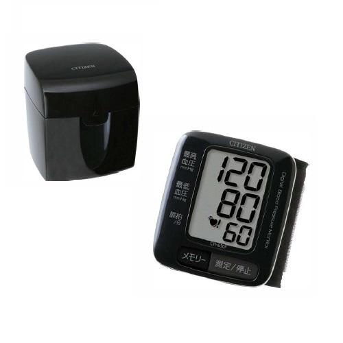 シチズン 電子血圧計 手首式 CH-650F-BK