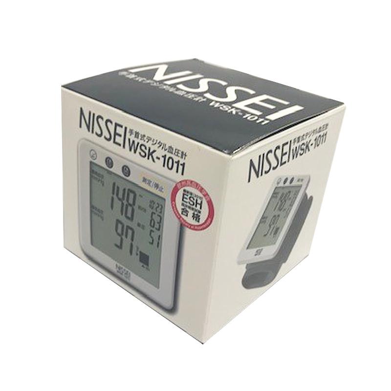日本精密測器 電子血圧計 手首式 WSK-1011-10
