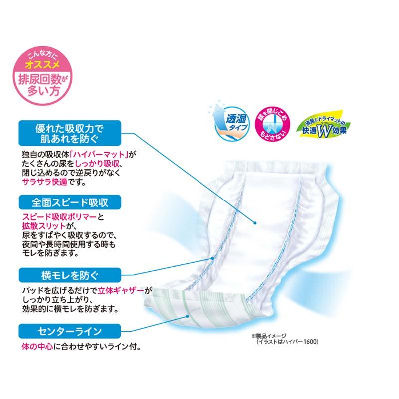 リフレ 高吸収パッド ハイパー1200 【各種】