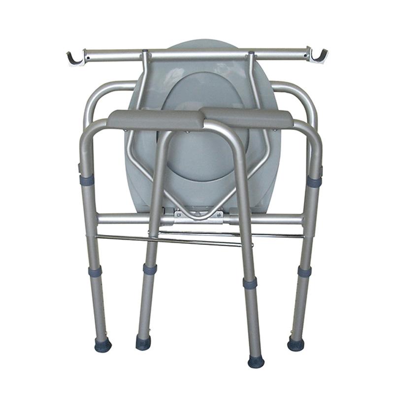 肘掛・背もたれの付いた介護・防災用ポータブルトイレ ユニトイレ・安心