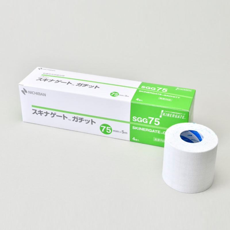 粘着性布伸縮包帯 スキナゲート ガチット 【各種】