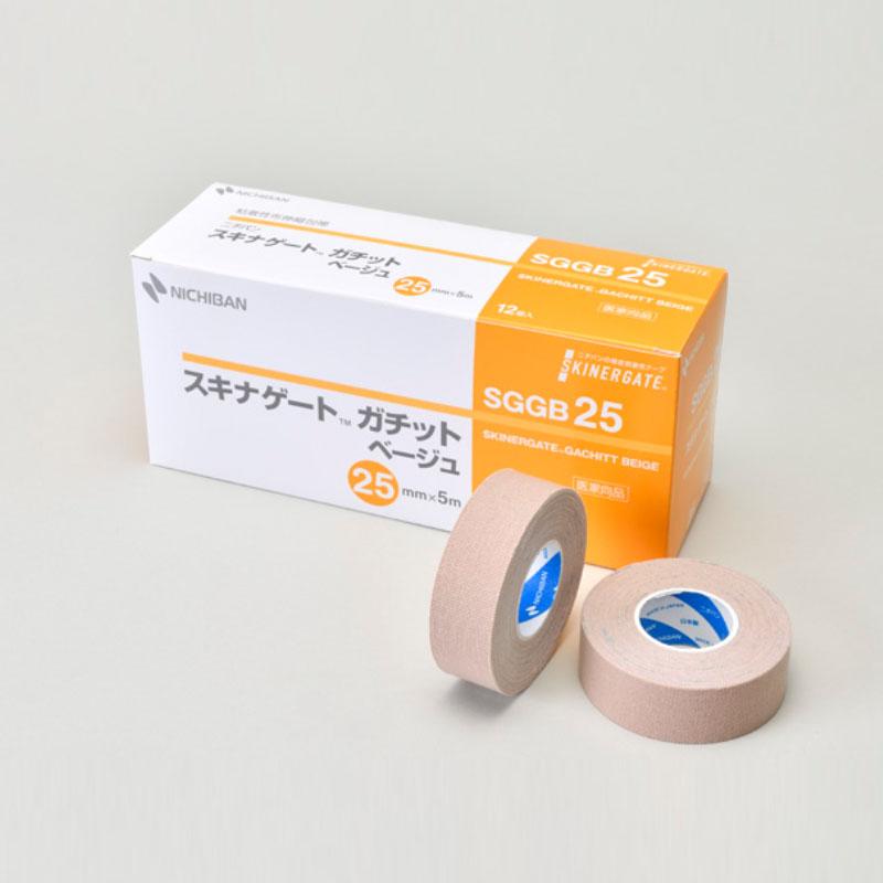 ニチバン 粘着性布伸縮包帯 スキナゲート ガチット ベージュ 【各種】