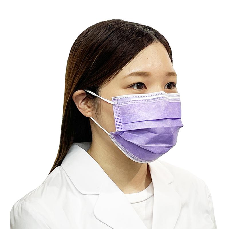 <4色展開>ファーストレイト フィット使いきりマスク レギュラー 50枚入【各種】