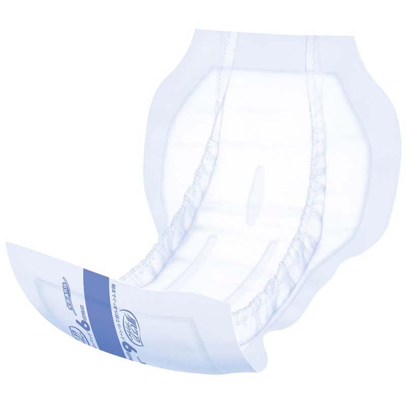 肌ケア アクティ 大人用おむつ 朝までぐっすり尿とりパッド(テープタイプ用)  6回分 27枚